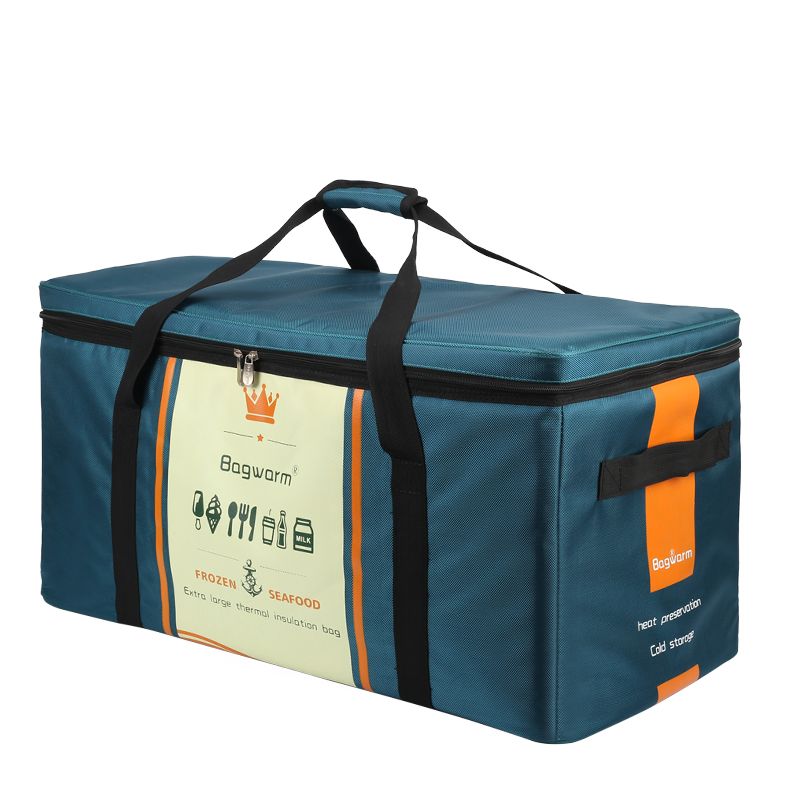 94L 70L 50L bardzo duża wodoodporna torba termoizolacyjna duża piknik box pojazd izolowane fajne torby torebka chłodząca świeży samochód torba wb139 w Torby chłodzące od Bagaże i torby na  Grupa 1