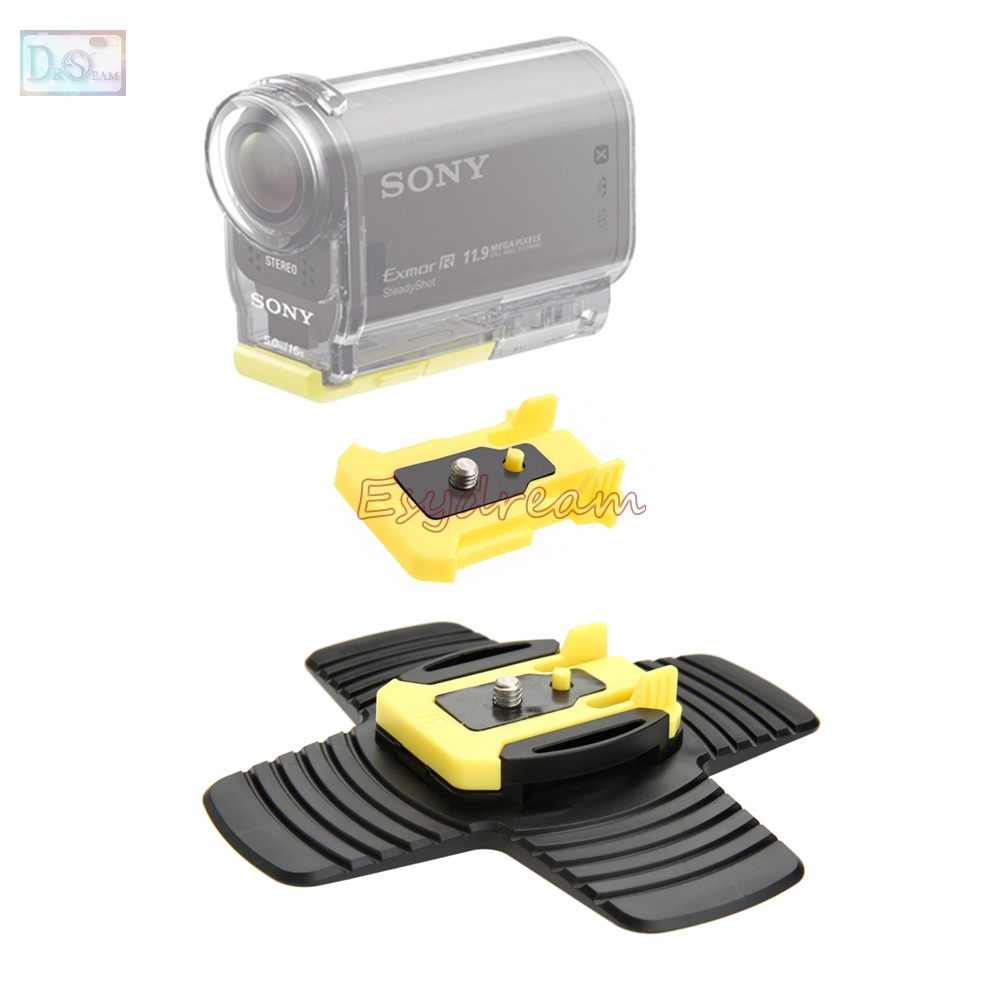 Flexible Surf surfboard Mount para Sony fdr-x3000 hdr-as30v hdr-as100v HDR as15 as20 as30v as300 as200v as100v como aka-sm1