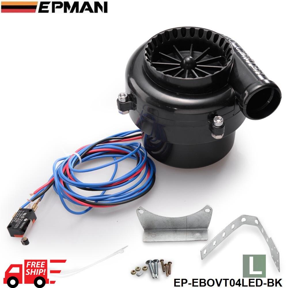 Tansky L SIZE LED Professional Car Fake Dump Electronic Turbo Blow Off Hooter Valve Sound Tool Kit TK-EBOVT04LED-FS
