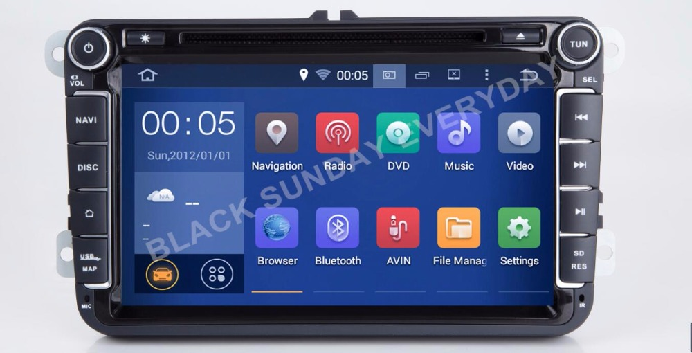 Android 7.1.1 8Inch Car DVD Player For VW/Volkswagen/POLO/PASSAT/Golf/TOURAN/SHARAN CAR DVD PLAYER Multimedia Navigation DVD