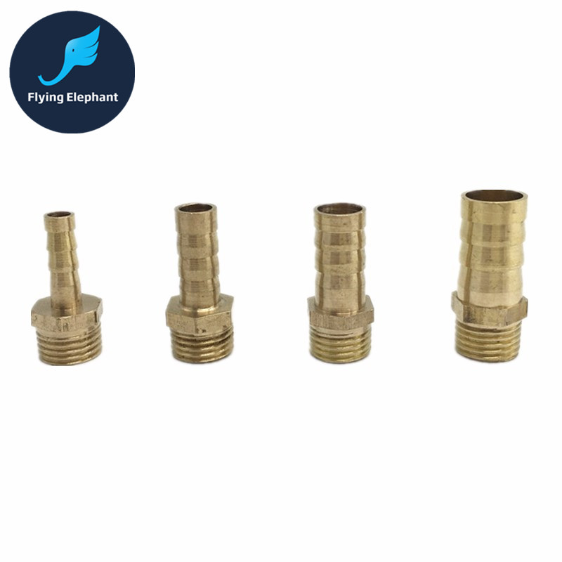 1 Piece 6mm 8mm 10mm 12mm G1/4 Brass water nipple splitter for Computer Water Cooling , pagoda joint water tube Connector