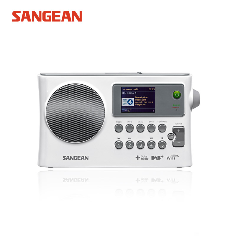 SANGEAN WFR-28C Անվճար առաքում Ինտերնետ ռադիո / DAB + / FM-RDS / USB ցանց WIFI ստերեո ռադիո Սանգեյան ռադիոընդունիչ FM ստացող