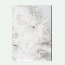 Fashion Simple Poster Vogue Woman Nordic Wall Pop Art Canvas Painting Black and White Feather Quotes Posters Prints Unframed