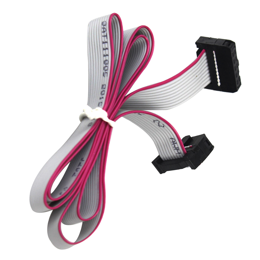 10 Pin Ribbon : Smart electronics cm pin usbisp usbasp jtag avr