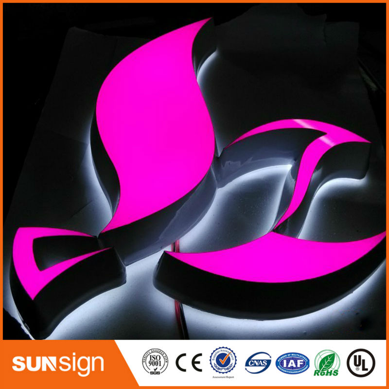 Wholesale High Brightness Outdoor Large Alphabet Letters Acrylic Luminous Signs