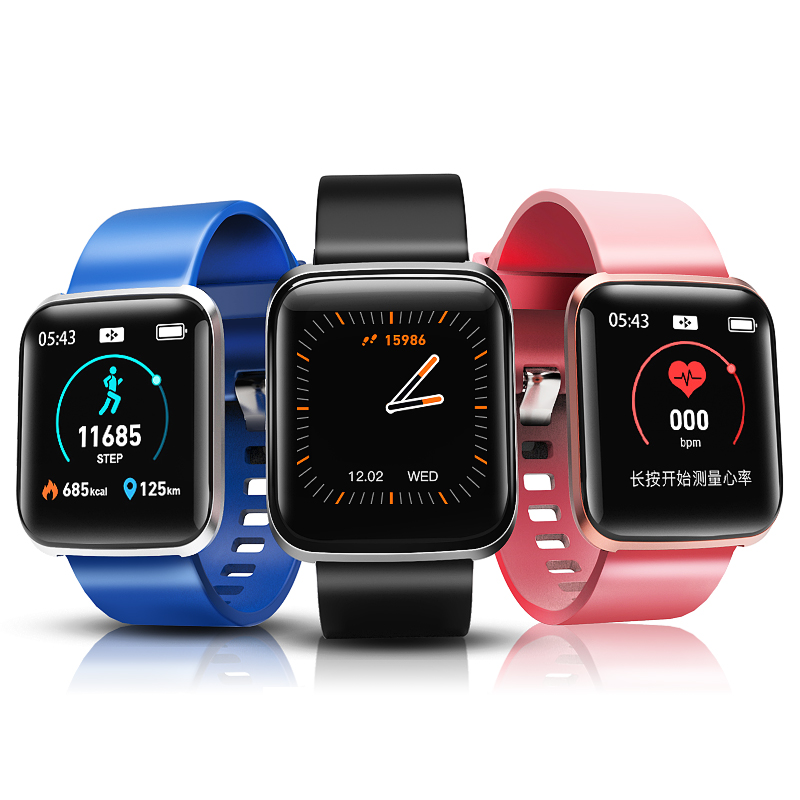 Fitness Bracelet Smart Watches Bluetooth Connected Sport Activity Tracker Health Monitor Electronics Watch