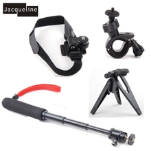 JACQUELINE for AccessoriesTripod Mount Extendable Handle Monopod for Sony Action Cam HDR AS200V AS50 AS30V AS200V AS100 AZ1 min