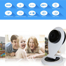 Wifi Wireless IP Camera 720P 1.0MP CCTV Security IP Camera Baby Monitor Motion Detection EU US plug