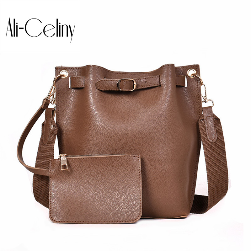 2-In-1 Bucket Bag Beach Handbag Shoulder Original Design Crossbody Bag Original Design Sideric