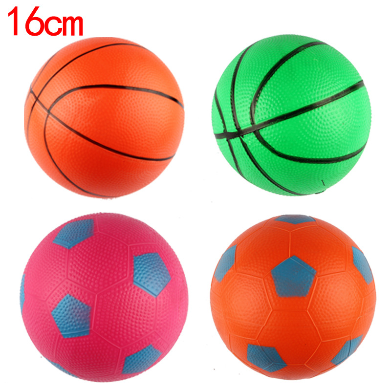 Children's Inflatable Toys Small Basketball 16cm Small Ball Kindergarten Special Football Basketball Game