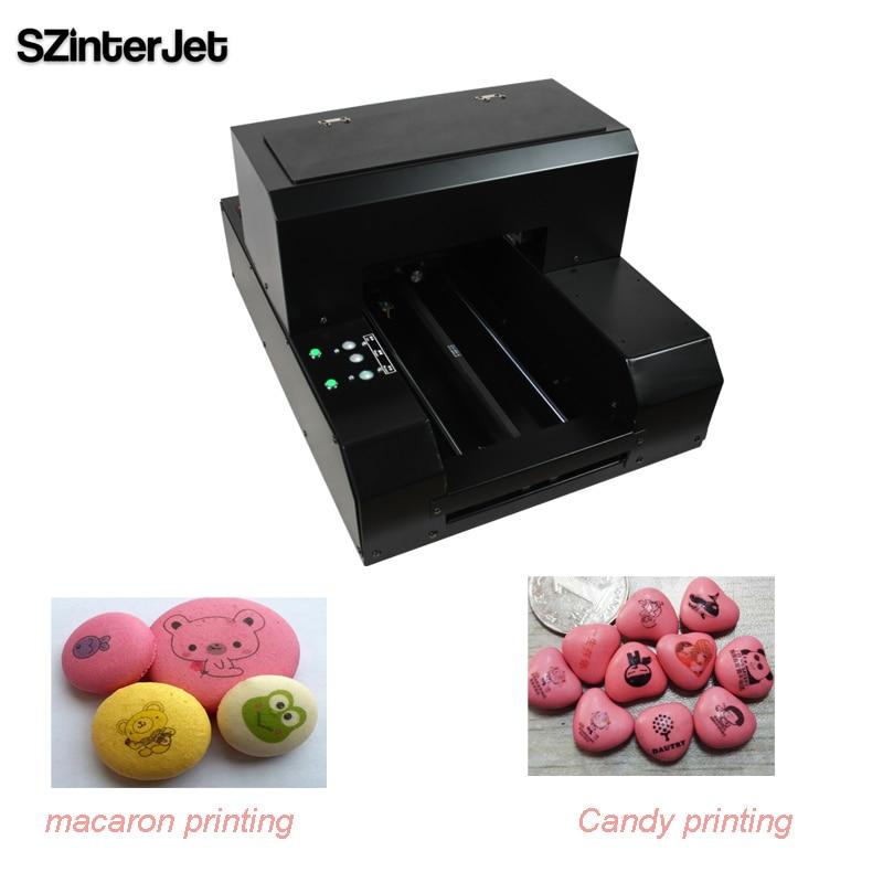 Edible Cookies Food Printer & MM Candies Printer