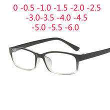 30ad539841 0 -1 -1.5 -2 -2.5 -3 -3.5 -4 -5 -6 Finished Myopia Glasses Men Short-sight  Eyewear Black Transparent Frame Women Myopia Glasses