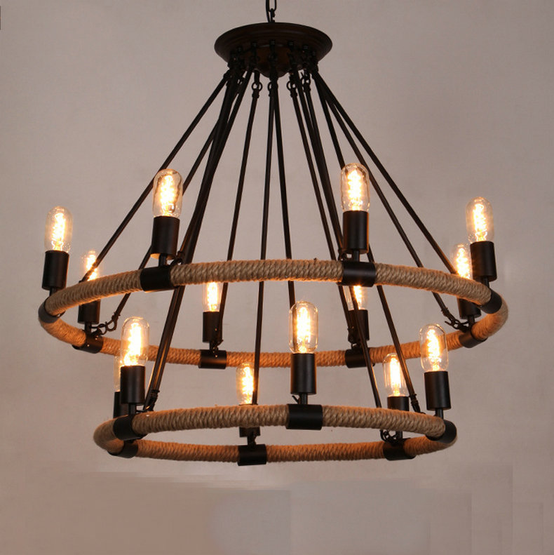 pendant lighting with rope # 89