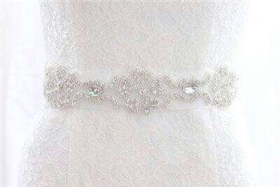 Sparking crystal belt  rhinestone trimming wedding belts and sashes - Arts, Crafts and Sewing