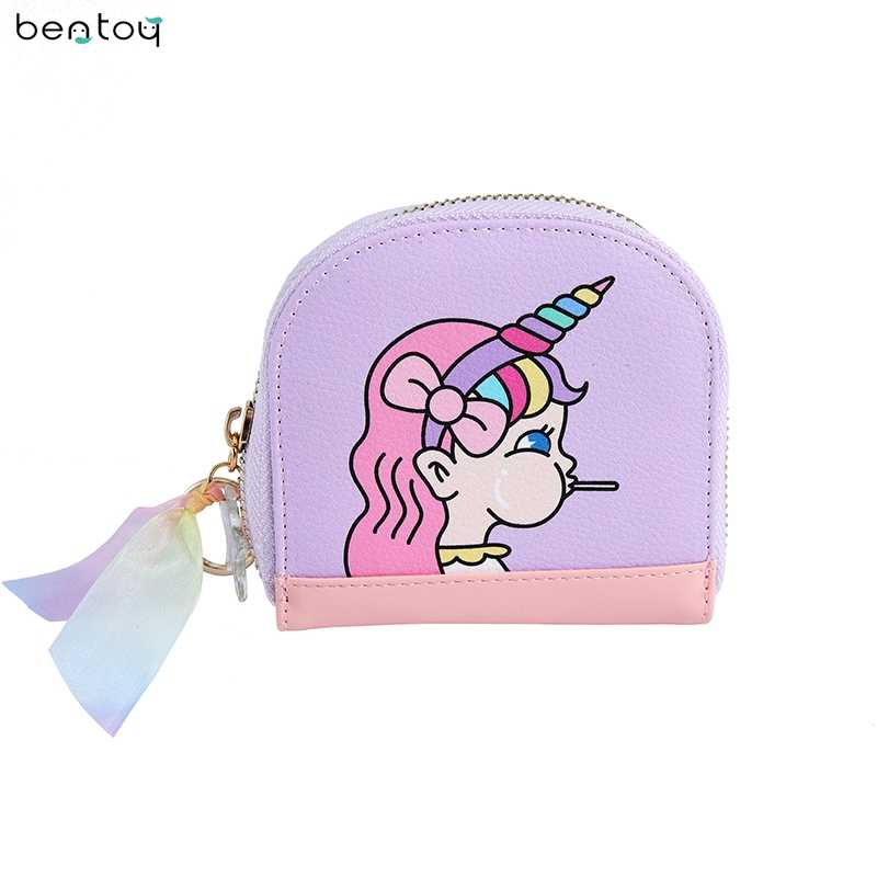 Fashion Cartoon Cute Mini Women Wallet Female Short Money Purse Girl Coin Credit Card Holder Ladies Leather Wallet Change Purse
