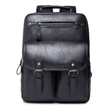 School bags Trendy men backpacks Fashion Back pack Casual travel bag bickpick mochila leather knapsack tour
