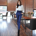 Dabuwawa two colors all match high waist bow trousers leggings