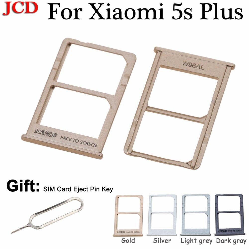 JCD For xiaomi 5s plus mi5splus New SIM Card Holder Slot Tray Repair Parts Gold Silver Light grey Dark gray for Xiaomi 5s Plus