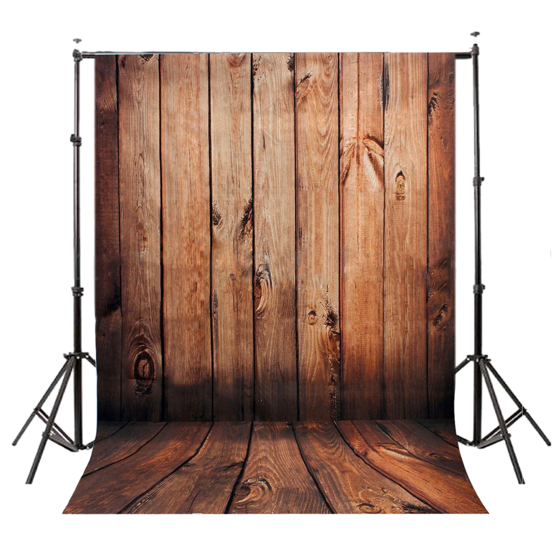 5x7FT Vinyl Photography Backdrop Photo Background, Brown wood wall floor 10ft 20ft romantic wedding backdrop f 894 fabric background idea wood floor digital photography backdrop for picture taking