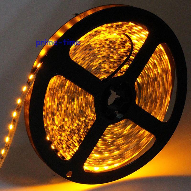 3528 SMD 120 LED / m LED sloksne, 5m 600 LED 12V elastīga gaisma BEZ - LED Apgaismojums - Foto 5
