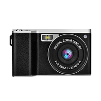 4.0 IPS Touch Screen 24MP 12X Optical Zoom Digital Camera Video Recorder with 52mm Wide Angle +Macro Lens Photo Camera/Traps