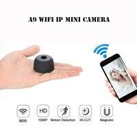 A9 WIFI Mini Camera HD 1080P IR Night Vision DVR Wireless IP P2P Micro Camera Motion
