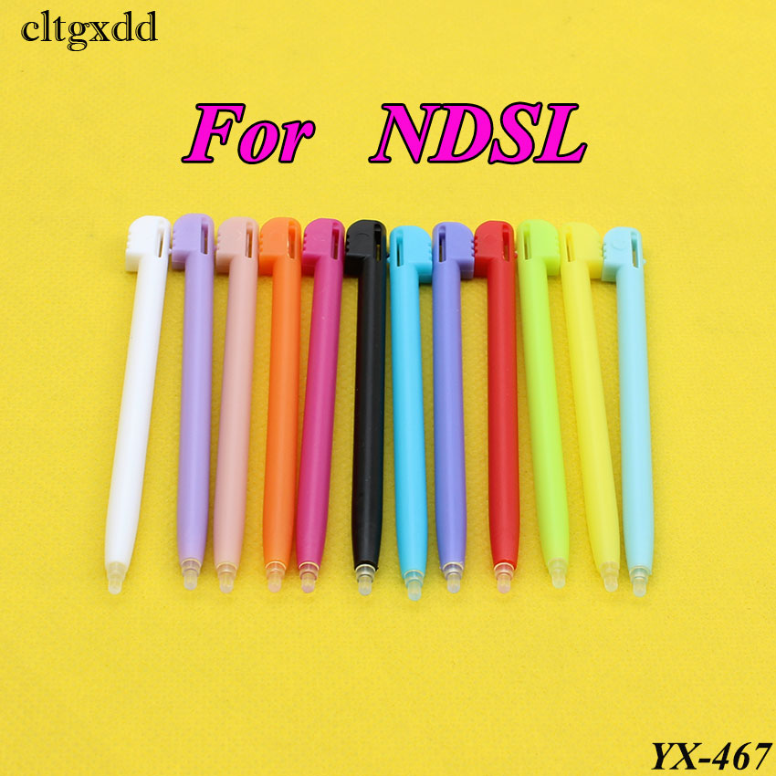 cltgxdd 100PCS Wholesale 12 Colors Plastic Touch Screen Stylus Pen for Nintendo DS Lite for 3DS XL For NDSIXL Game Accessories