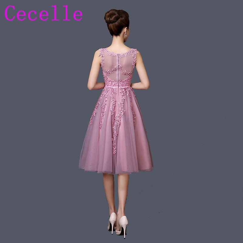 Encantador Vestidos De Dama Corto Blush Motivo - Ideas para el ...