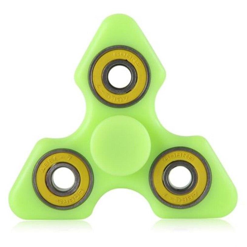 2017 Luminous Hand Spinner Fidget Toys Finger Spinner Gryo Figit Relieves Anti Stress hand spinner Gyro toys May 30