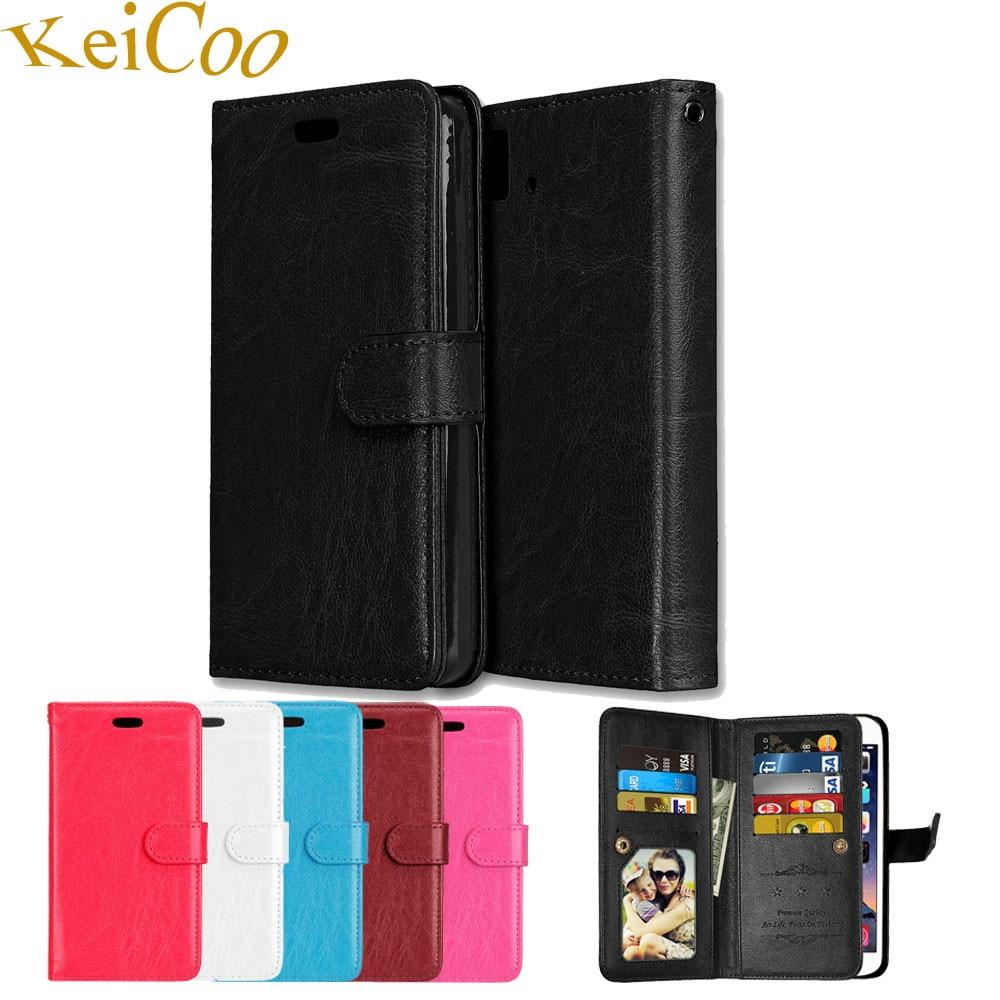 9 Card Slot Book Flip Coque Cases For Huawei Nova Plus LTE Dual SIM MLA-L03 5.5 Covers TPU Capas Funda For HUAWEI Nova Plus Case