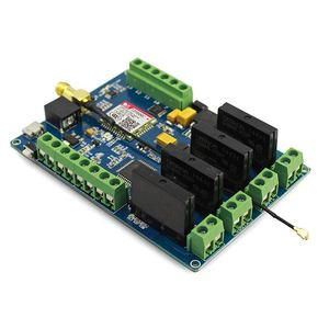 Электронная плата Leonardo GPRS GSM IOT с реле SIM800C, беспроводные проекты, набор для сборки, Встроенная плата с 8-битным AVR MCU