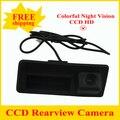 Продвижение CCD автомобильная камера заднего вида для Audi A4/Audi A4L/S5/Q5/A8L/09/10 Passat/Tiguan/RS6/12 Sagitar Багажника ручка камера