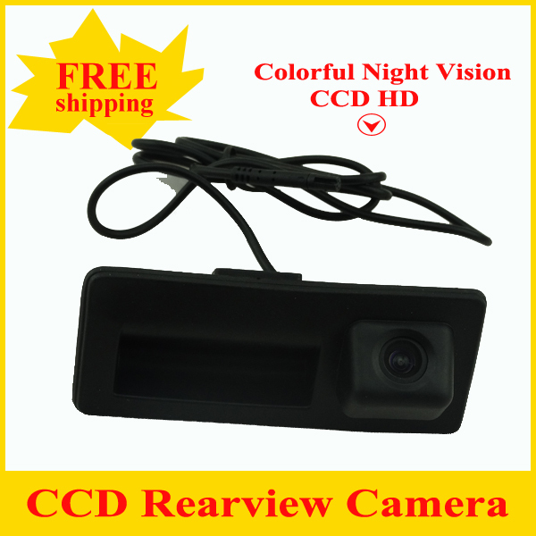 Promotion CCD car rear camera for Audi A4/Audi A4L/S5/Q5/A8L/09/10 Passat / Tiguan / RS6/12 Sagitar Trunk handle camera