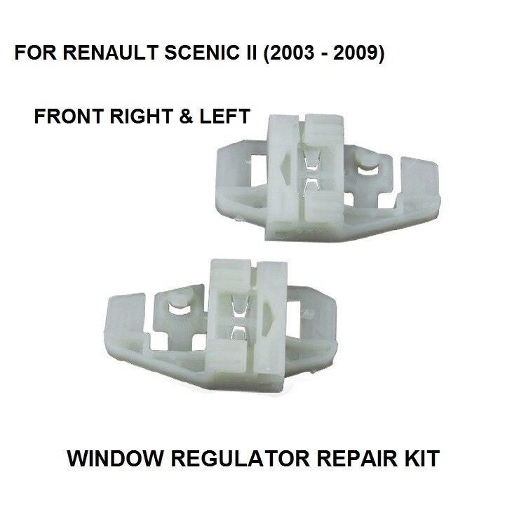 Kit de reparación de Faros Soporte De Montaje Clips Lado Izquierdo Para Renault Megane Mk3