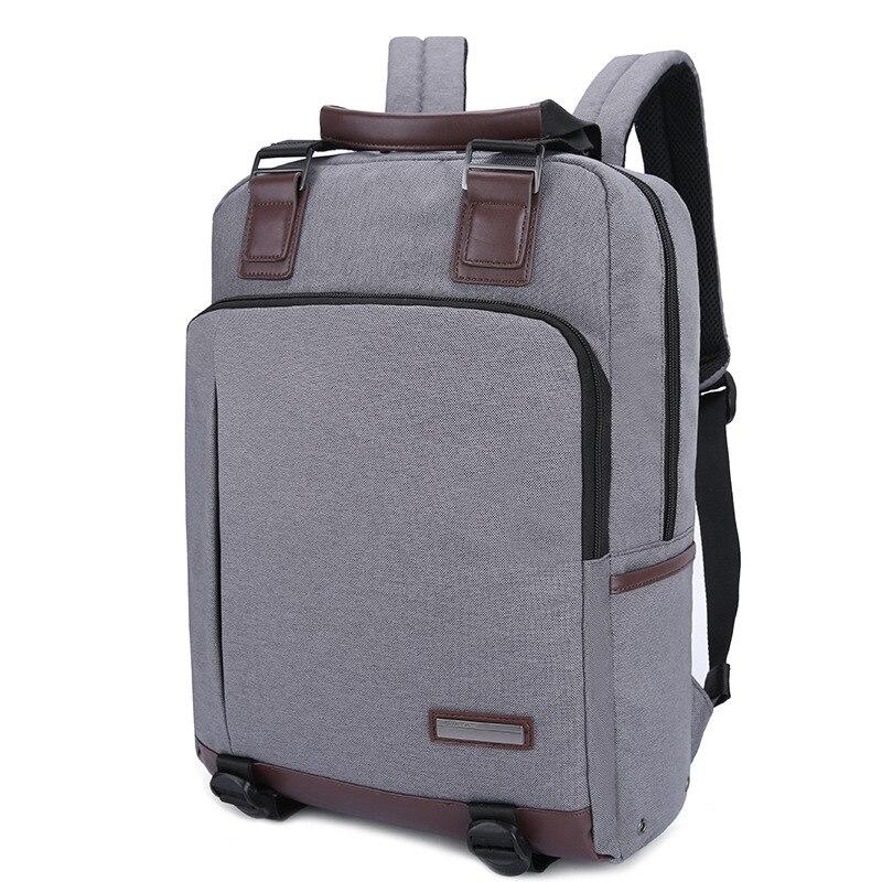 Slim Backpack Laptop Waterproof Men Backpack Business Computer Backpack Bag 14.1 Inch Women Men's Laptop Bag Backpack 15.6 Grey slim xl backpack