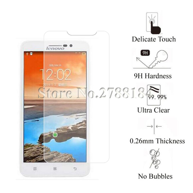 2pcs Premium Tempered Glass For Lenovo A850 Plus Screen Protector Toughened Protective Film