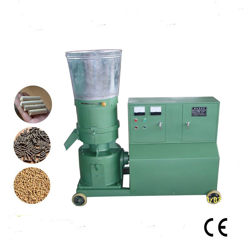 <font><b>30KW</b></font> KL400C Pellet Press Feed Wood Pellet Mill With <font><b>Motor</b></font>, Feed Pellet Making Machine image