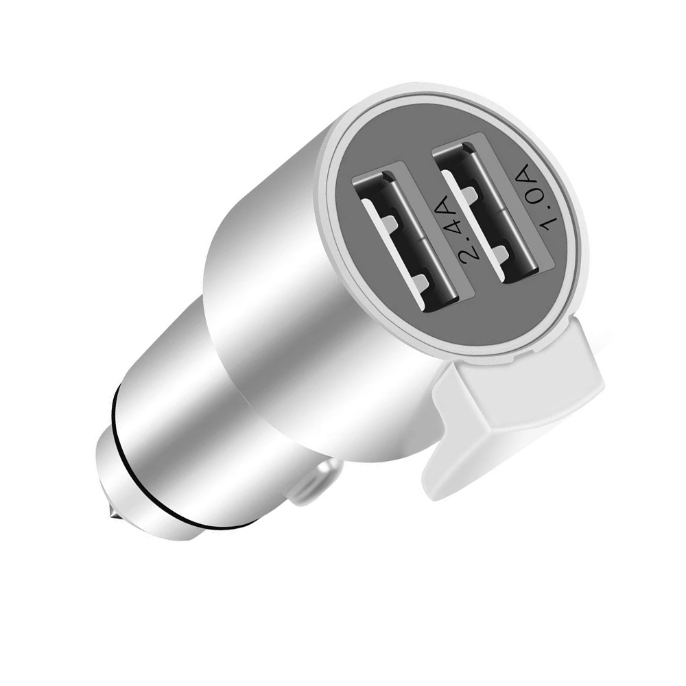 Powstro 3 in 1 Mobile Charger Dual USB Car Charger