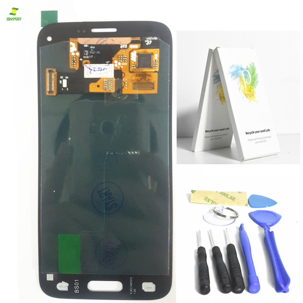 4.5 inch S5 Mini G800 G800F G800H For Samsung Galaxy S5 Mini G800 G800F G800H Black Lcd Display +Touch Screen Digitiser Assembly
