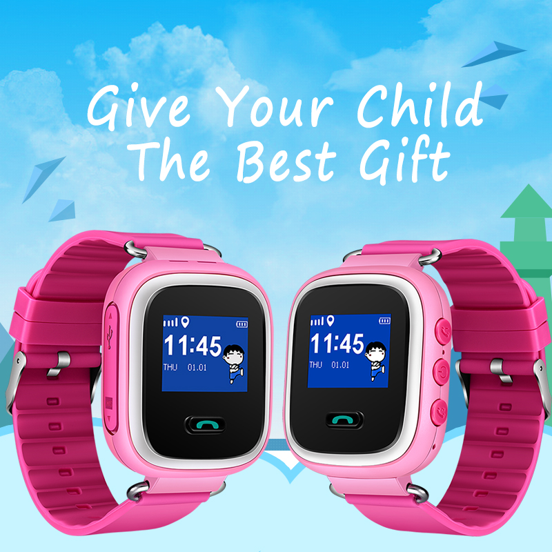BANGWEI 2018 New Children Smart Watch Baby Health And Safety Positioning Anti-Lost SOS Watch SIM Card Children Gift Smart Watch