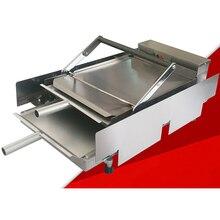VOSOCO pieczone hamburger maszyna Hamburg dwuwarstwowe pokładzie maszyny kok toster toster 2000 W do pieczenia Żywności Mcdonalda/KFC Burger