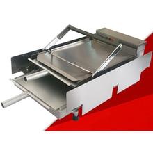 VOSOCO baked hamburger machine toaster 2000W Hamburg double layer machine board bun toaster Food baking McDonald's /KFC Burger