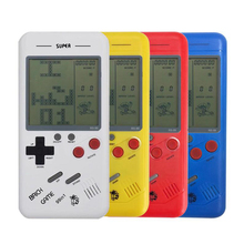 Classic Tetris Game Machine Children Students Nostalgic Puzzle Small Handheld Console