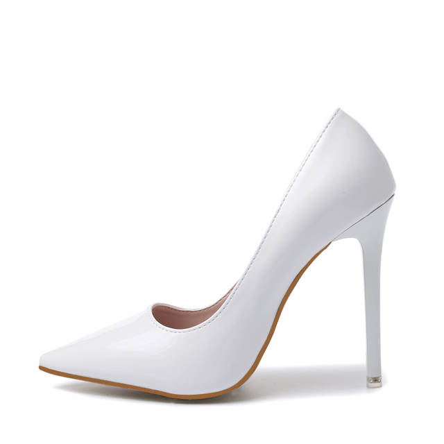 b49a0b4584341b Online Shop DEleventh Fashion Ladies Wedding Shoes Women Sexy Stiletto  Pointed Toe High Heels Pumps Shoes Red Black White Color US8.5 40