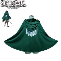 Cosplay Anime Attack On Titan Shingeki No Kyojin Cloak Cape Costume Japanese cartoon rivaille Free shipping