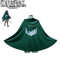 Cosplay Anime Attack On Titan Shingeki No Kyojin Cloak Cape Costume Japanese cartoon rivaille Free shipping