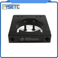 Diameter 65mm Aluminum Alloy CNC Router/Spindle Mount For Makita RT 0700C Workbee OX CNC Router Machine 3D Printer Parts