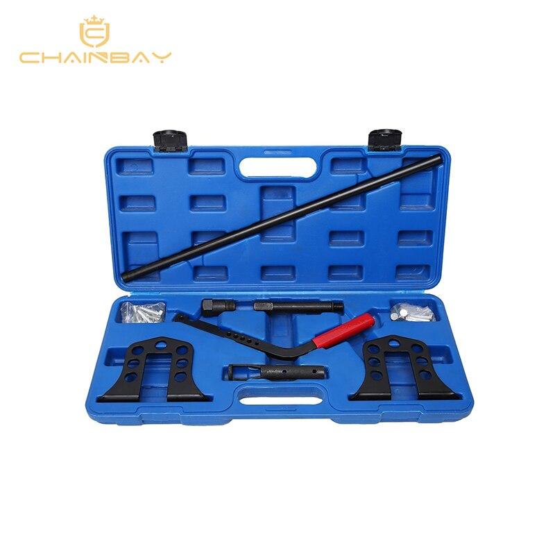 Engine Overhead Valve Spring Remover/Installer OHV/OHC Compressor Tool Kit Set