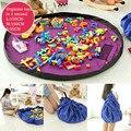 Portátil Crianças Childs Jogar Mat Multi-função Playmat Brinquedos Carro Saco De Armazenamento Organizador Para Piquenique em Família Tapetes de Jogo 45/100/150 cm