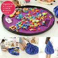 Portable Kids Childs Playing Mat Multi-function Playmat Toys Storage Bag Organizer For Family Picnic Car Play Mats 45/100/150cm